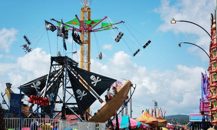 Admission for Two or Four to the Lancaster Fair (Up to 52% Off)