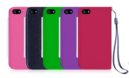 Wallet Case for iPhone 4, iPhone 5/5s, iPhone 6, or iPhone 6 Plus