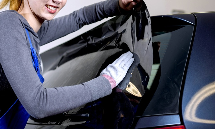 Tint Pro - Brampton East Industrial: Tinting Treatment for Five Car Windows at Tint Pro (54%Off)