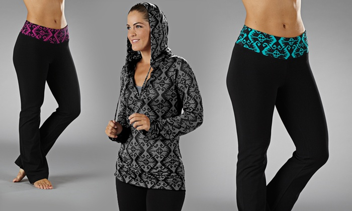 Balance Yoga Hoodies and Pants: $16.99 for Balance Yoga Hoodies and Pants (Up to $55 List Price). 3 Colors Available. Free Shipping and Returns.