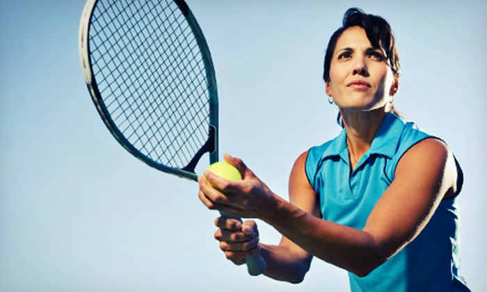 The Surma Sports Group - Rain Tree: Four or Eight Beginner Women's Tennis Classes or Intermediate Adult Drills at The Surma Sports Group (Up to 57% Off)