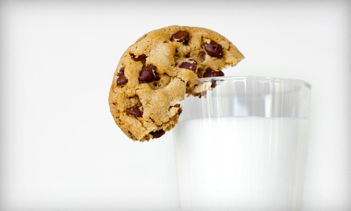 Boulder Baked - Downtown: $8 for 16 Freshly Baked Cookies with a Quart of Milk at Boulder Baked ($16 Value)