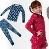 $7.99 for a Girls' Two-Piece Thermal Pajama Set