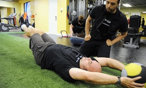 The Motion Room: 4 Series Boot Camp and Personal Co-Training at The Motion Room (Up to 95% Off). Two Options Available.