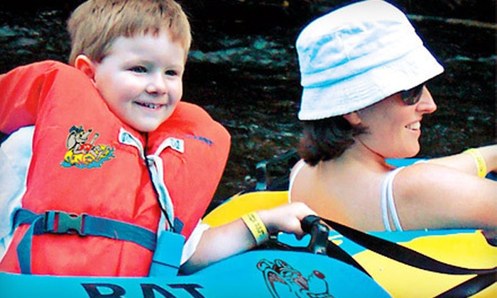 Smoky Mountain River Rat - 8: Tubing for Two or Four on Little River from Smoky Mountain River Rat in Townsend (Up to 54% Off)