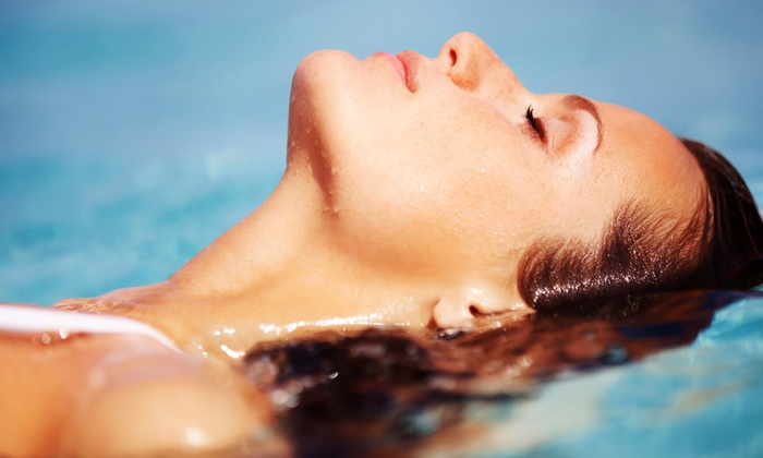 Flotopia - Yacht Club Village: $29 for One Hour of Relaxation in the Float Tank with a Drink and Epsom Salt Take-Home Gift at Flotopia ($72 Value)
