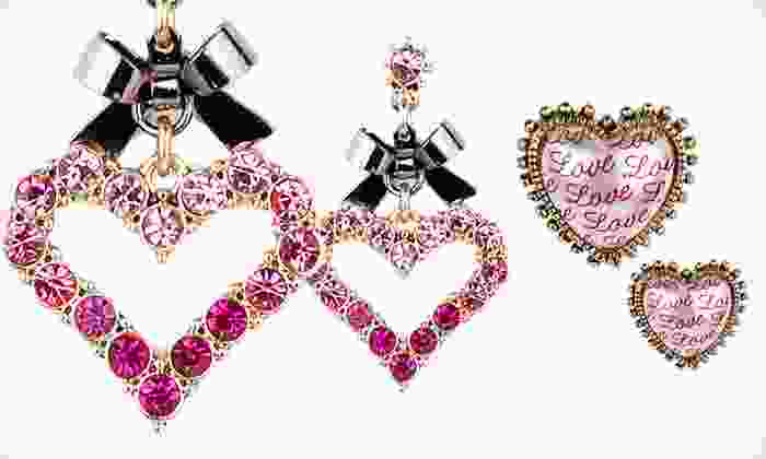 Betsey Johnson Jewelry: Betsey Johnson Jewelry (Up to 60% Off). 13 Options Available. Free Shipping on Purchases of $15 or More. Free Returns.