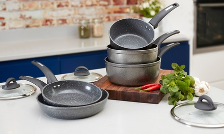 Tower Five Piece Pan Set With Free Delivery