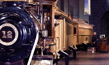 $49 for a One-Year Conductor  Family Membership to the California State Railroad Museum ($75 Value)