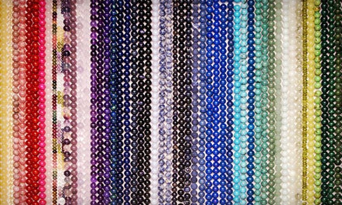 Canada Beading Supply - Ottawa: $20 for $40 Worth of Beads, Classes, Jewellery, and Supplies at Canada Beading Supply