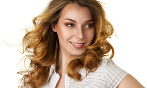 Linet at Avenues Salon: Haircut with Optional Root Touchup, Partial Highlights, or Full Highlights from Linet at Avenues Salon (Up to 53% Off)