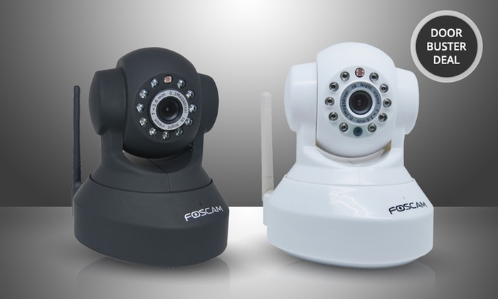 Foscam FI8918W Wireless/Wired Pan-and-Tilt IP/Network Camera: Foscam FI8918W Wireless/Wired Pan-and-Tilt IP/Network Camera. Multiple Options from $49.99-$59.99. Free Returns.