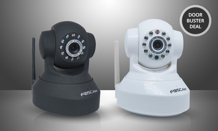 Foscam FI8918W Wireless/Wired Pan-and-Tilt IP/Network Camera. Multiple Options from $49.99-$59.99. Free Returns.