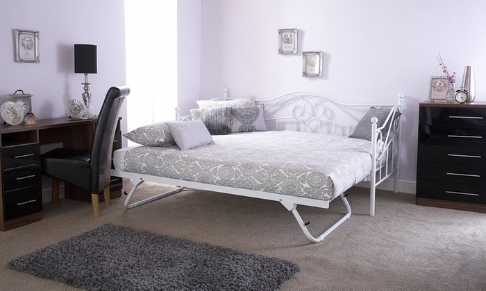 Medina Day and Trundle Beds with Optional Mattresses