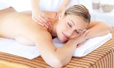 Back, Neck and Shoulder Massage with Optional Elemis Facial at Sky Spa