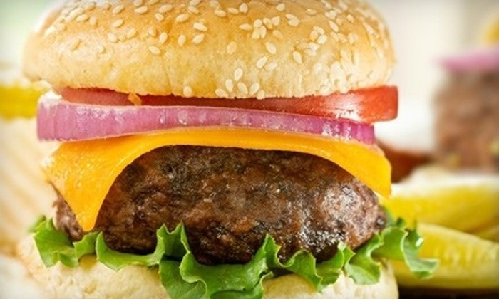 Dirty Bridge Bistro - Portland: Breakfast Sandwich Plus Coffee, or Wrap or Burger Plus Soda and Chips at Dirty Bridge Bistro (Up to 45% Off)
