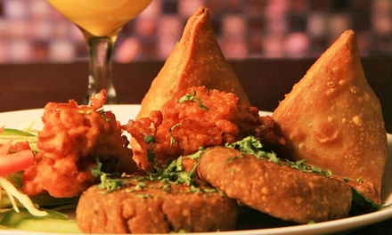 $17 for $30 Worth of Dinner and Drinks at India Palace Bar & Tandoor