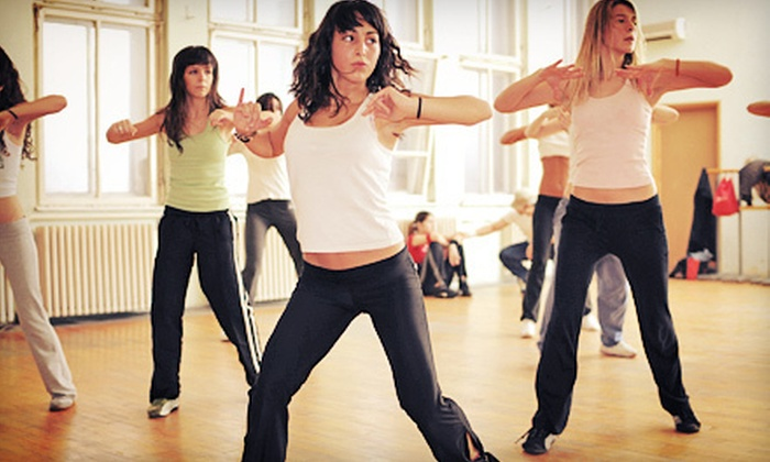 Go Figure Gym - Camillus: $29 for One Month of Unlimited Women's Zumba or R.I.P.P.E.D. Fitness Classes at Go Figure Gym ($75 Value)