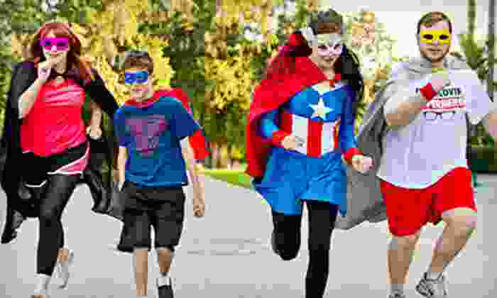 Superheroes 5K - Capitol Mall: Regular or VIP Entry to Superheroes 5K on Sunday, June 16 (Up to 55% Off)