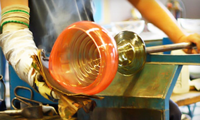 Luke Adams Glass - Norwood: Glass-Blowing Workshop for One or Two, or a Jewelry-Making Class for Two at Luke Adams Glass (Up to 53% Off)