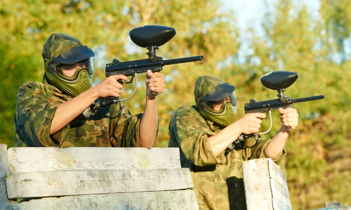 Midrand Paintball - Gauteng: Paintball Session with Gear and 100 Paintballs for Up to 12 People from R480 at Midrand Paintball (Up to 60% Off)