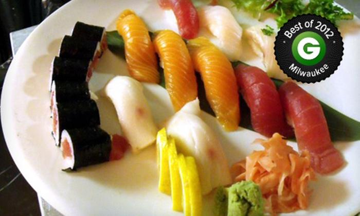 Kiku Japanese Cuisine - Kilbourn Town: $20 for $40 Worth of Sushi and Japanese Fare at Kiku Japanese Cuisine