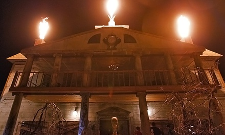 Admission for Two or Four to Thrillvania Haunted House Park (Up to 33% Off)