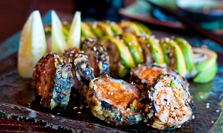 $12 for $20 Worth Of Chinese Cuisine and Sushi at Golden Shanghai