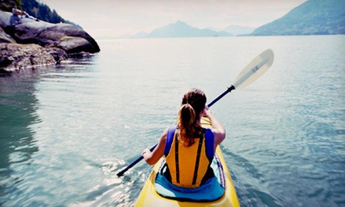 NorthWest Kayak and Canoe Rental - Derry: Four-Hour Kayak, Canoe, Rowboat, or Paddleboat Rental from NorthWest Kayak and Canoe Rental (Up to 51% Off)
