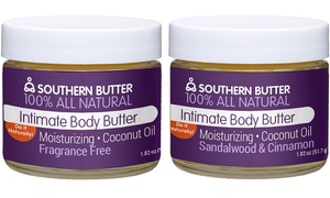 Southern Butter Coconut Oil-Based Intimate Body Butter (1.82 Oz.)