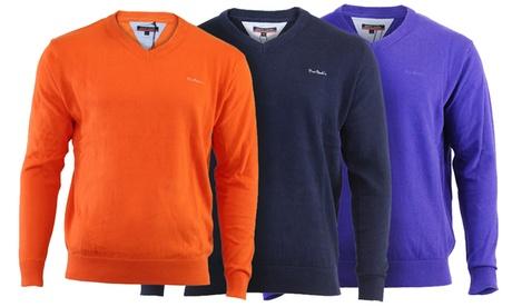 Jersey Pierre Cardin con cuello en V disponible en varios colores