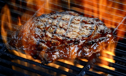 Steaks, Seafood, and Comfort Fare at The Reef 'N Beef Restaurant & Lounge (Up to 47% Off). 4 Options Available.