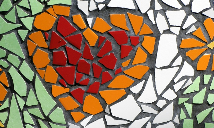 Art Glass Supplies of Oklahoma, LLC - Patrick Henry: Introduction to Stained Glass Mosaics Class for One or Two at Art Glass Supplies of Oklahoma, LLC (Up to 58% Off)