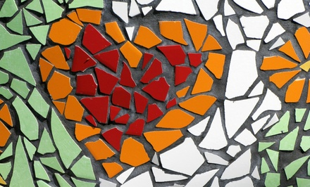 Introduction to Stained Glass Mosaics Class for One or Two at Art Glass Supplies of Oklahoma, LLC (Up to 58% Off)