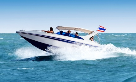 $179 for a Full-Day Pontoon Rental from Sand Dollar Charters, LLC ($400 Value)