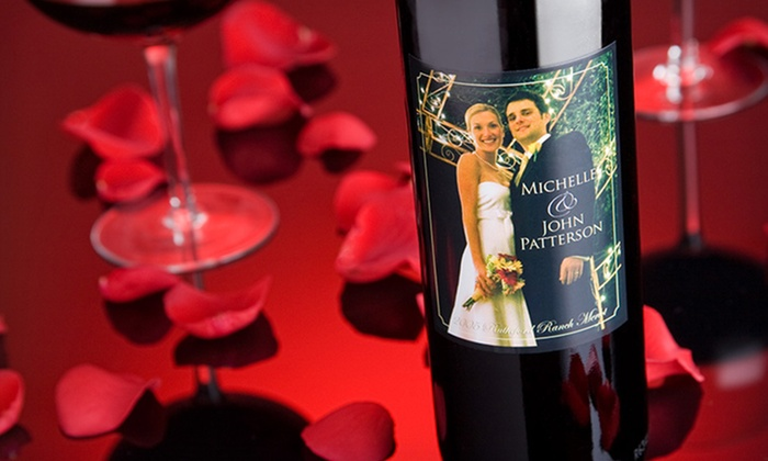 Personalized Wine Labels: 24, 48, or 100 Personalized Wine Labels from PersonalWine.com (Up to 80% Off). Free Shipping.