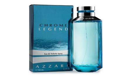 Azzaro Chrome Legend Eau de Toilette for Men; 4.2 Fl. Oz