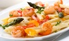 Hawthorne Inn - Gray Summit: Italian-American Food and Drinks for Dinner at The Hawthorne Inn (Half Off). Two Options Available.
