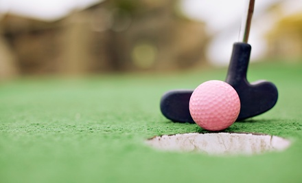 Mini Golf for Two or Four with Ice-Cream Sandwiches at Family Sports Outdoor Miniature Golf (50% Off)