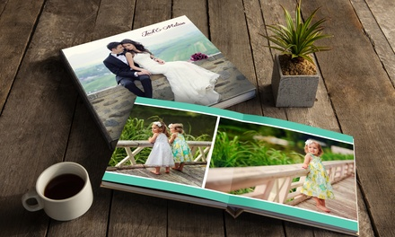 20-Page Lay-Flat Photo Book from AdoramaPix (Up to 53% Off). Two Options Available