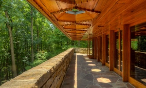 Kentuck Knob: Visit for Two to Frank Lloyd Wright's Kentuck Knob (Up to 36% Off). Two Options Available.