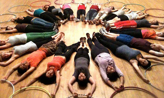 Fire Groove - Mid-Wilshire: Three or Six Beginner Hoop-Fitness Classes at Fire Groove (Up to 61% Off)