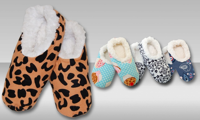Frankie & Johnny Footie Slippers: $6.99 for Frankie & Johnny Footie Slippers ($12.99 List Price). Multiple Colors Available. Free Returns.