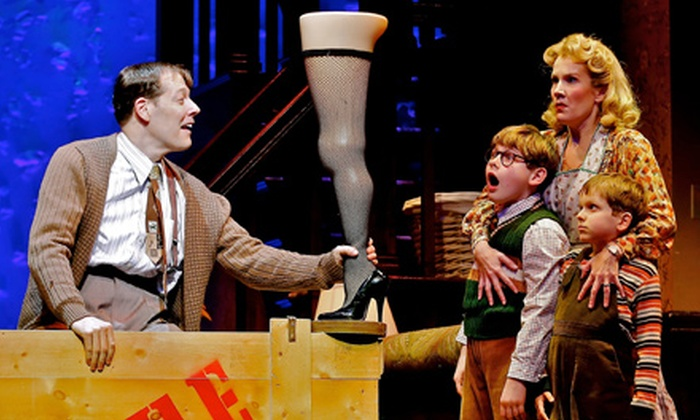 """""""A Christmas Story, The Musical"""" - Shubert Theatre at Citi Performing Arts Center: """"A Christmas Story, The Musical"""" atCiti Wang Theatreon November 20–December 8 (Up to 57% Off)"""