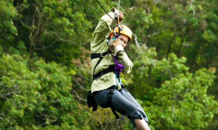 Kersey Valley Zipline - Archdale: $44 for a 10-Line Zipline Tour at Kersey Valley ($89 Value)