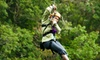 Kersey Valley - Archdale: $44 for a 10-Line Zipline Tour at Kersey Valley ($89 Value)