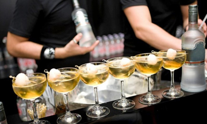 So Cal Bartender - Orange County: Four-Hour Bartender Rental with Movie Passes or Poker or Blackjack Package from So Cal Bartender (Up to 53% Off)