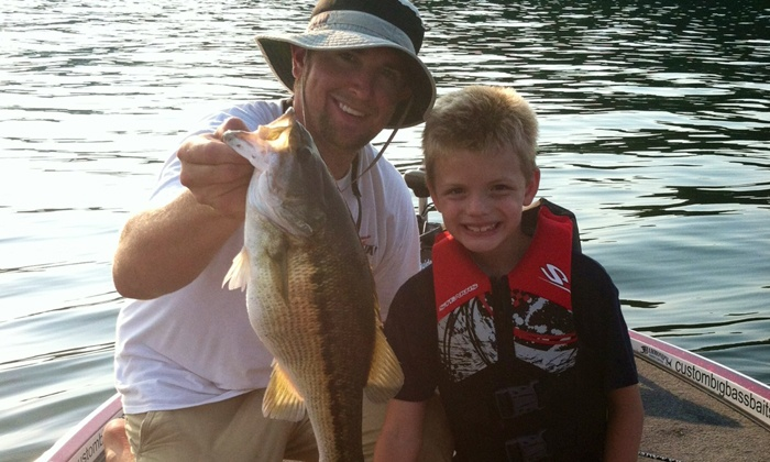 Rob Jordan Fishing - East bank park: Three- or Six-Hour Guided Fishing Trip for an Adult and Child from Rob Jordan Fishing (Up to 50% Off)