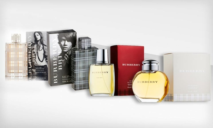 Burberry Men's and Women's Fragrances: Burberry Men's or Women's Fragrance (Up to 61% Off). Multiple Options Available. Free Shipping.