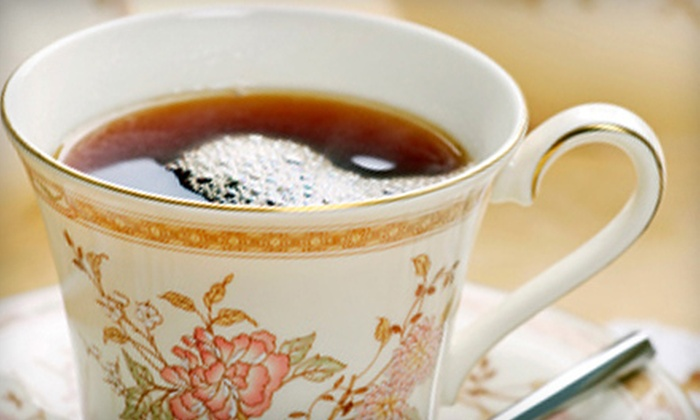 Terra Tea Salon - Montclair Public Library: Full-Service Afternoon Tea for Two or Four from Terra Tea Salon at Montclair Public Library (Half Off)